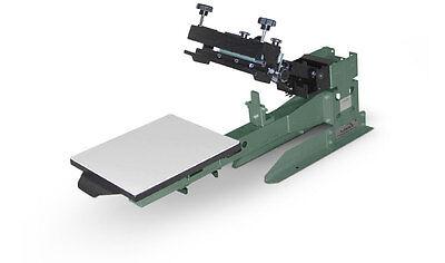 Vastex V-2000 Super Heavy Duty Screen Printing Press 1 Station 1 Color