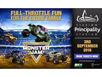 2 X monster jam tickets 03/09/16
