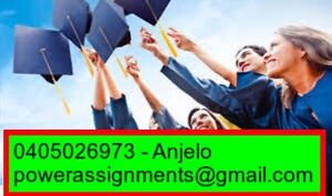Cheapest, Fastest And Professional Assignment Help/A ++ guarantee/24hr Melbourne CBD Melbourne City Preview