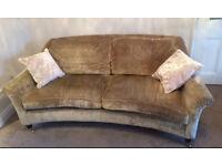 Laura Ashley Reigate 2 seater velvet sofa (originally £1,300 ) 2 available