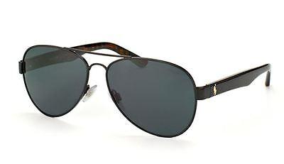 GENUINE POLO Ralph Lauren 3096 Sunglass Replacement Lenses - Grey Polycarbonate