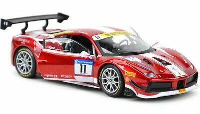 FERRARI 488 CHALLENGE 1:24 Diecast Car Racing Toy Model Die Cast Cars Models Red