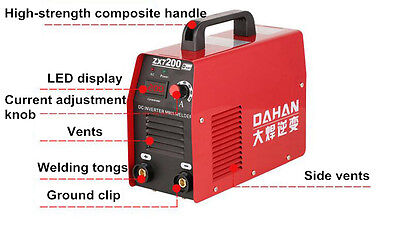 Small Household 4800w Inverter Led Display Dc Electric Welding Machine 220v New