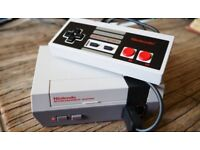 Nintendo NES Classic Mini Console + 110 installed games