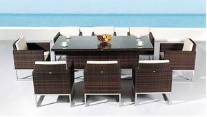 Liquidation des modèles 2016 Table de patio 6 chaises