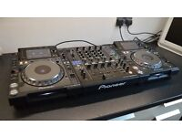 Pioneer CDJ 2000 Nexus and DJM 900 mixer