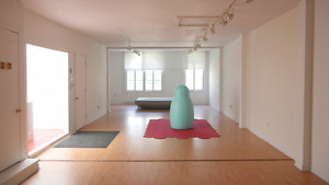 Creative Space Hourly Rental (perfect for classes!)
