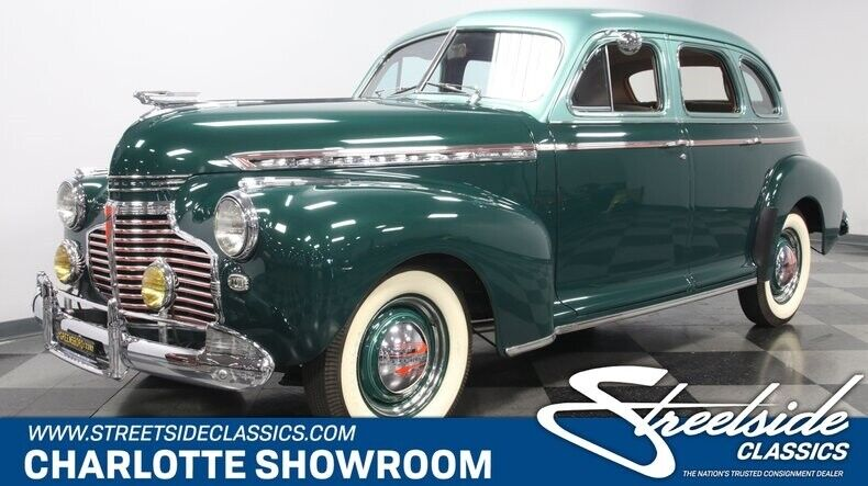 1941 Chevrolet Other Deluxe classic vintage chrome antique restoration restored chevy green tan cloth