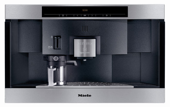 Miele Built In Nespresso Coffee Machine For