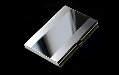 Waterproof Stainless Steel Business ID Credit Card Wallet Holder Purse Case Box