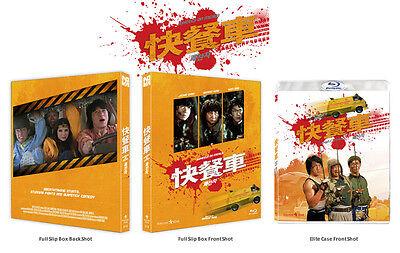 Wheels On Meals (2016, Blu-ray) Full Slip Case / Jackie Chan / NOVA