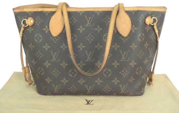 dff53f85ece Louis Vuitton - Monogram Neverfull PM Schoudertas | 2dehands.be