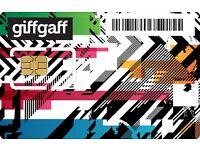 Free Giffgaff Simcards + £5 bonus credit