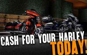 WANTED!!! USED HARLEY-DAVIDSON'S CASH BUYER Capital Hill South Canberra Preview