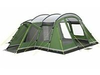 Montana 6 man tent with awning and carpet