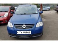 VOLKSWAGEN FOX 2010 1.2 PETROL 59,000 MILES 3 DOOR HATCHBACK MANUAL BLUE