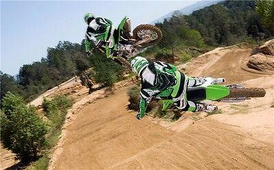 "MOTOCROSS DIRT BIKE JUMP SPORT PHOTO ART PRINT POSTER 21""x13"" 026"