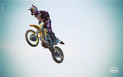 "MOTOCROSS DIRT BIKE JUMP SPORT PHOTO ART PRINT POSTER 21""x13"" 004"