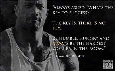 Dwayne Johnson   The Rock Fast Furious Muscle Strong Usa Star 40X24   D20