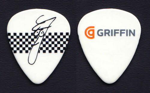 Cheap Trick Rick Nielsen Signature Griffin Technologies White Guitar Pick - 2011