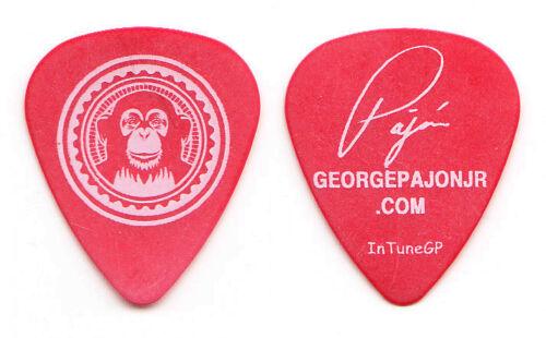 Black Eyed Peas George Pajon Signature Guitar Pick - 2006 Monkey Business Tour