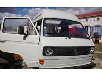 VW T25, aircooled campervan
