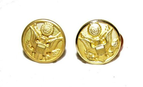 US Army Brass Cufflinks made by W B Co.