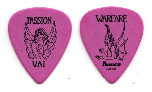 Vintage Steve Vai Signature Purple Guitar Pick - 1990 Passion And Warfare Tour