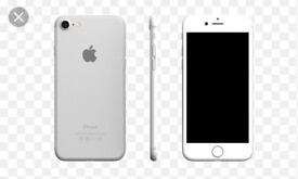 White and silver iPhone 7 32gb unlocked