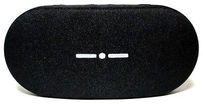 Italien Independent Etui Hart Groß Scheide Black Schwarz Fall Box Bag Case