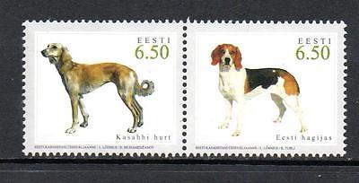 ESTONIA MNH 2005 SG499-500 HUNTING DOGS