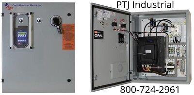 150 hp reduced voltage electric motor starter soft start 200 amps 460 volt panel
