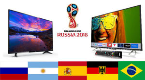 "WORLD CUP SPECIAL SALE!! SANYO 50"" SMART TV!! $450"