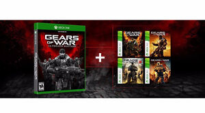 Gears of War ultimate edition including GoW 1-3+Judgement