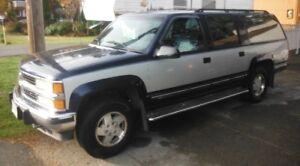 1994 Chevrolet Suburban 4x4 Blue/Grey SUV