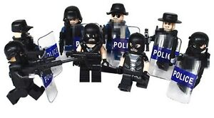 POLICE SWAT Heavy Fire Special Weapons And Tactics Lego... St. John's Newfoundland image 2