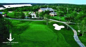 Full Adult Membership to Granite Springs Golf Course