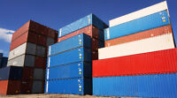 USED SHIPPING STORAGE CONTAINERS