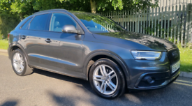 Audi Q3 2.0 Tdi S line quattro Black Edition