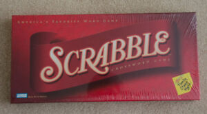 New Factory Sealed Scrabble Crossword Board Game Parker Brothers