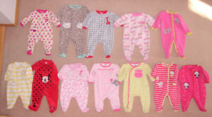 Girls Sleepers, Clothes, Dresses, Pram - 6, 6-9, 9, 12, 12-18