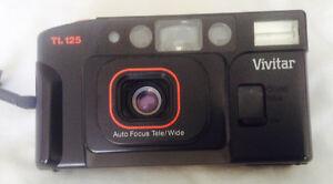 Vintage VIVITAR camera auto focus tele/wide TL125