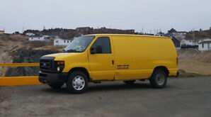 2008 Ford ecoline 250 van, perfect for roadtrips and camping