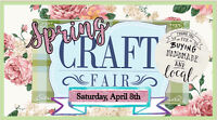 Springing Into Spring Craft Fair- April 8, 2017