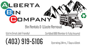 Bins, Waste Removal, and MORE!