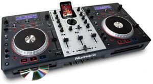 Console de mixage et lecteur audio Numark Mixdeck