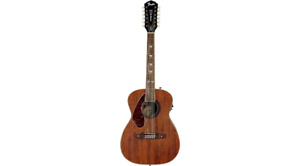 Left Handed Fender-Tim Armstrong 12 String Acoustic/Electric