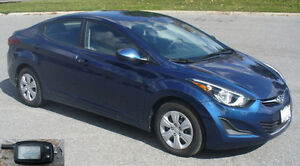 2015 Hyundai Elantra with A/C, Winter Tires, Remote Starter