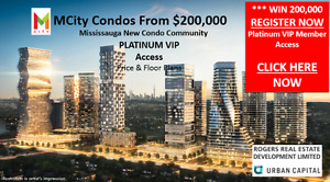 MCity Mississauga New Condos From $200,000