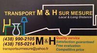 Demenagement transport M&H